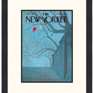 Original New Yorker Cover April 1, 1974
