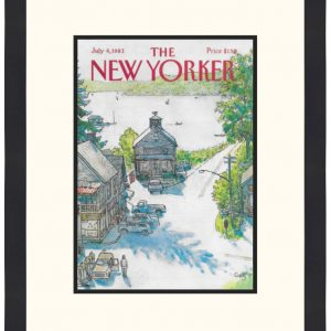 Original New Yorker Cover July 4, 1983