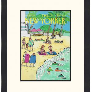 Original New Yorker Cover January 20, 1992