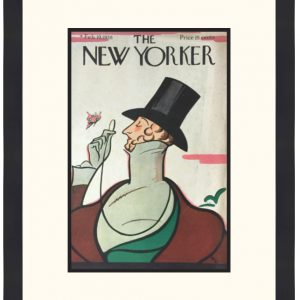 Original New Yorker Cover February 19, 1938