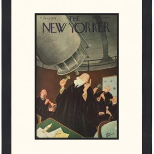 Original New Yorker Cover January 1, 1938