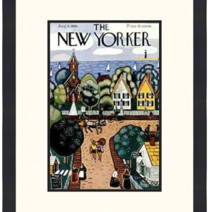 Original New Yorker Cover August 6, 1938