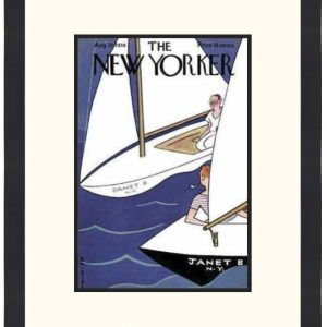 Original New Yorker Cover August 27, 1938