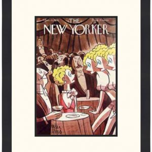 Original New Yorker Cover January 15, 1938