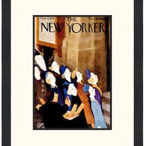 Original New Yorker Cover January 8, 1938