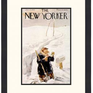 Original New Yorker Cover January 22, 1938