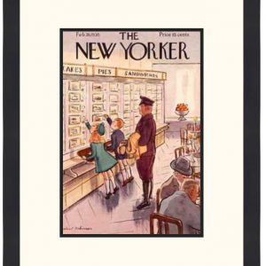 Original New Yorker Cover February 26, 1938