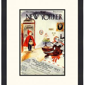 Original New Yorker Cover March 5, 1938