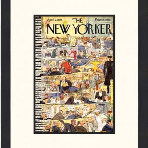 Original New Yorker Cover April 2, 1938