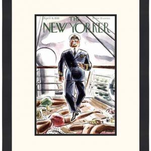 Original New Yorker Cover April 9, 1938