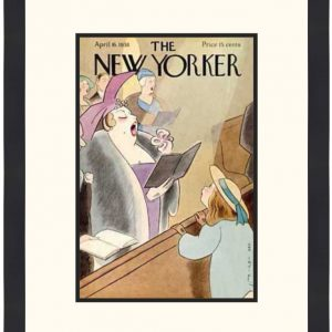 Original New Yorker Cover April 16, 1938