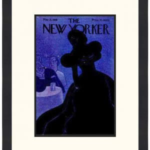 Original New Yorker Cover May 21, 1938