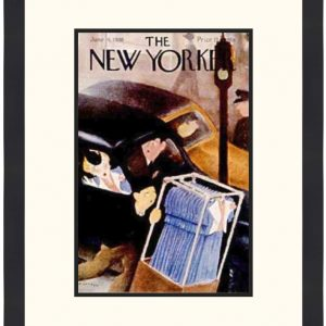Original New Yorker Cover June 4, 1938