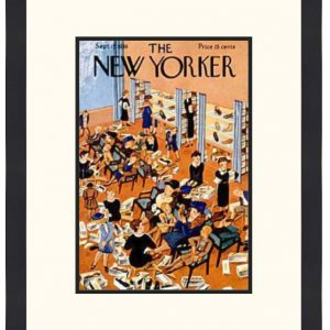 Original New Yorker Cover September 17, 1938