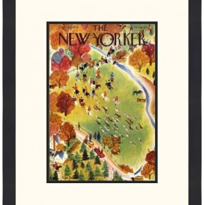 Original New Yorker Cover October 22, 1938