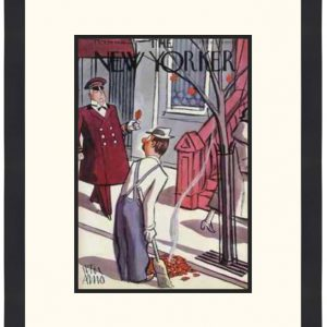 Original New Yorker Cover October 29, 1938