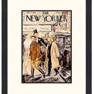 Original New Yorker Cover November 5, 1938