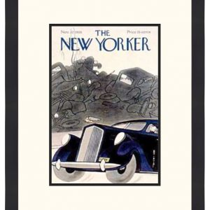 Original New Yorker Cover November 12, 1938