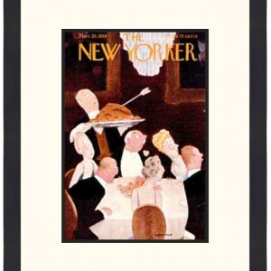 Original New Yorker Cover November 26, 1938