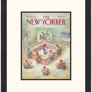 Original New Yorker Cover October 19, 1987