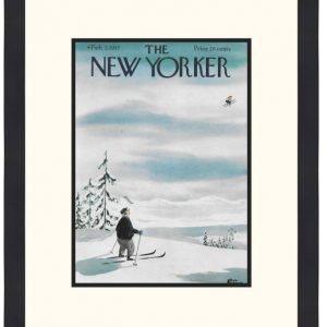 Original New Yorker Cover February 2, 1957