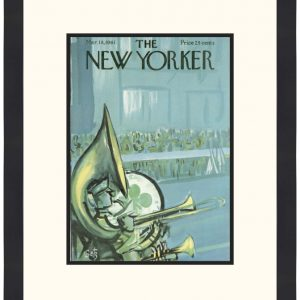 Original New Yorker Cover March 18, 1961