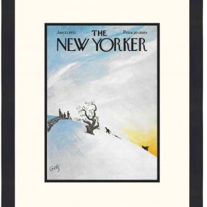 Original New Yorker Cover January 10, 1970