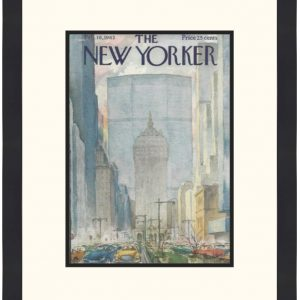Original New Yorker Cover February 16, 1963