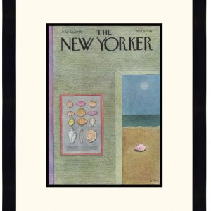 Original New Yorker Cover July 28, 1980