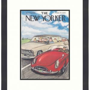 Original New Yorker Cover April 16, 1966