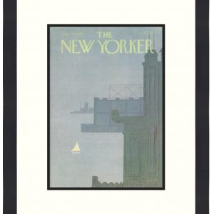 Original New Yorker Cover August 18, 1980