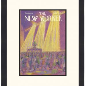 Original New Yorker Cover December 18, 1978