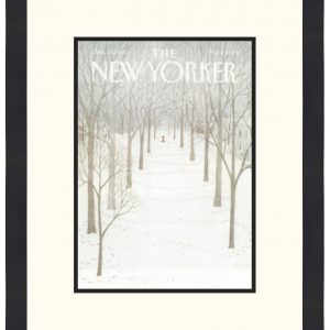 Original New Yorker Cover January 26, 1981