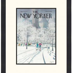 Original New Yorker Cover January 21. 1979