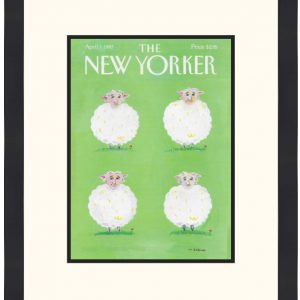 Original New Yorker Cover April 7, 1997