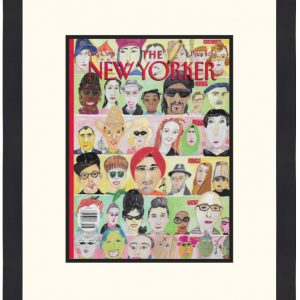 Original New Yorker Cover December 4, 1995