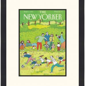Original New Yorker Cover September 2, 1991