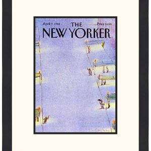 Original New Yorker Cover April 7, 1986