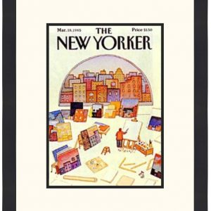Original New Yorker Cover March 18, 1985