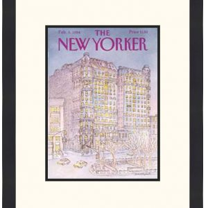 Original New Yorker Cover February 6, 1984