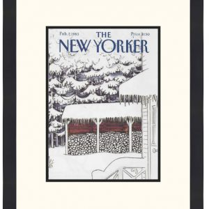 Original New Yorker Cover February 7, 1983