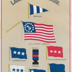 #4161 Larchmont Yacht Club Annual Frontispiece, 1911