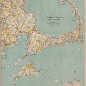 #F101 Cape Cod & Vicinity, 1908