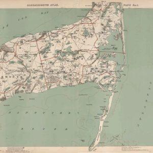 #F103 Cape Cod: Chatham, Harwich, Yarmouth 1891