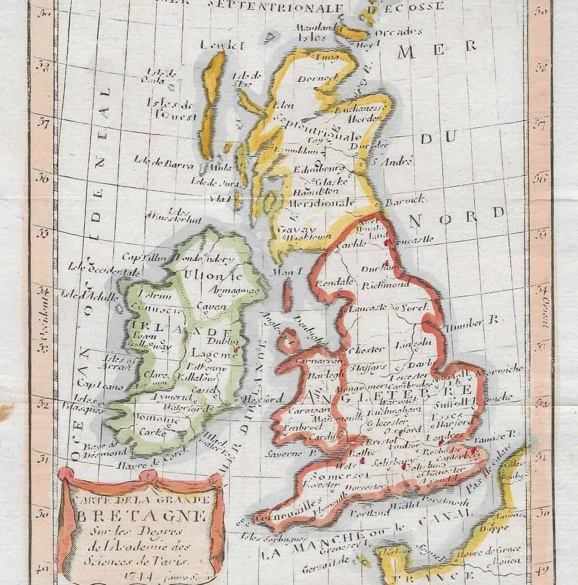 #1308 Britain 1744