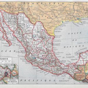 #2941 Mexico, 1922