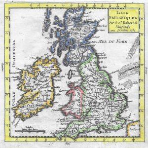 #3516 British Isles, 1750