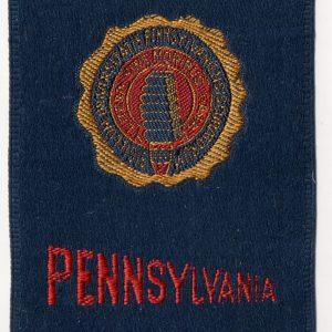 #2693 University of Pennsylvania tobacco silk, 1910