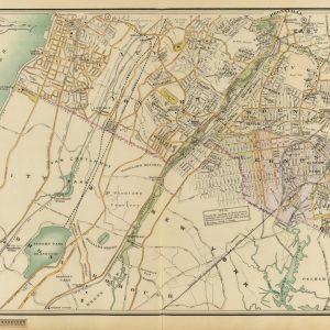 #2898 Pelham, East Chester, Bronxville, Mt Vernon, Yonkers 1908