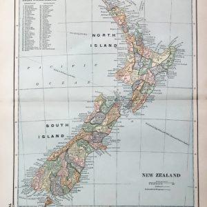 #3313 New Zealand, 1894